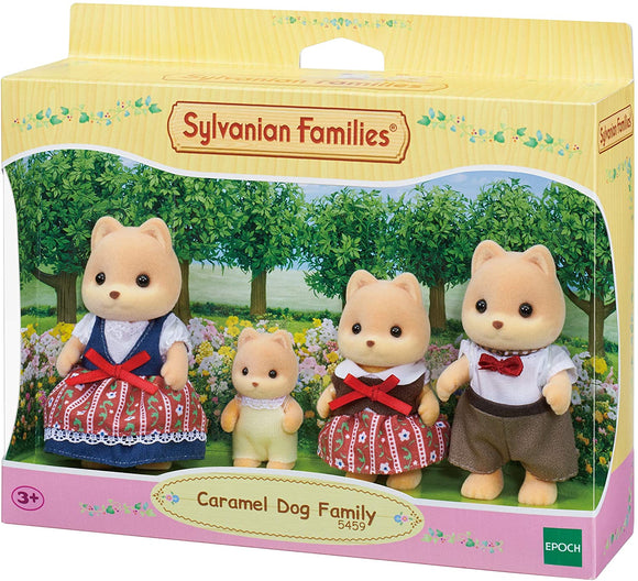 SYLVANIAN 5459 CARAMEL DOG FAMILY