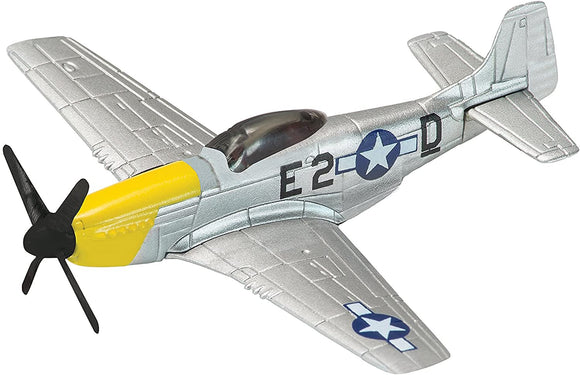 CORGI CS90628 AVIATION SHOWCASE P-51 MUSTANG PLANE