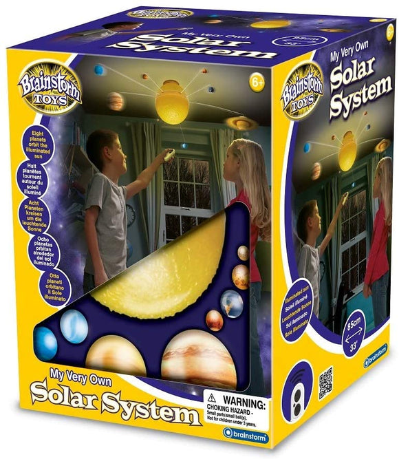 BRAINSTORM TOYS E2002 MY VERY OWN SOLAR SYSTEM