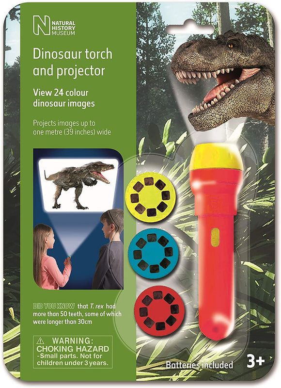BRAINSTORM N5130 DINOSAUR TORCH AND PROJECTOR