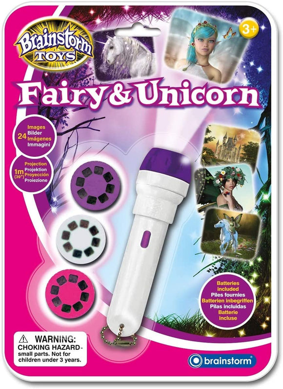 BRAINSTORM E2042 FAIRY AND UNICORN TORCH AND PROJECTOR