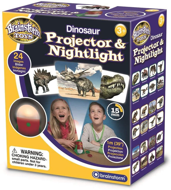 BRAINSTORM TOYS E2046 DINOSAUR PROJECTOR & NIGHTLIGHT