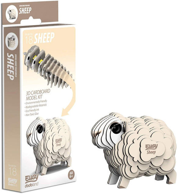 EUGY D5020 SHEEP 3D CARDBOARD MODEL KIT