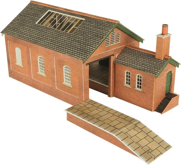 METCALFE PN112 N SCALE GOODS SHED