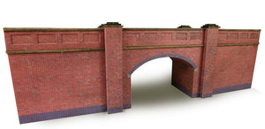 METCALFE PN146 N SCALE RAILWAY BRIDGE IN RED BRICK