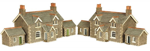 METCALFE PN155 N SCALE WORKERS COTTAGES
