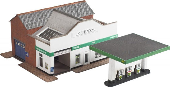 METCALFE PN181 N SCALE SERVICE STATION