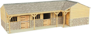 METCALFE PO256 00/H0 SCALE STABLE BLOCK