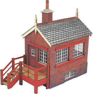 METCALFE PO430 00/H0 SCALE SMALL SIGNAL BOX