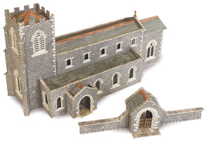 METCALFE PN926 N SCALE PARISH CHURCH