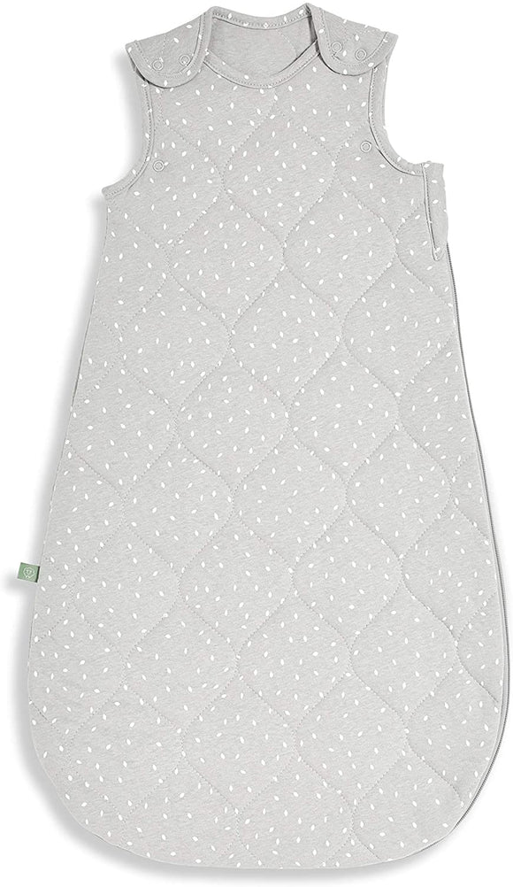 Little Green Sheep sleeping bag 0-6months quilted printed dove