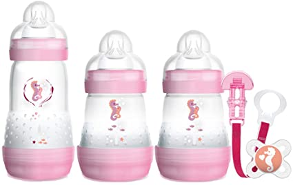 MAM Easy Start Welcome to the World Newborn 5 piece Set - Pink