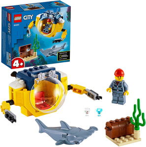 LEGO 60263 CITY OCEAN MINI SUBMARINE