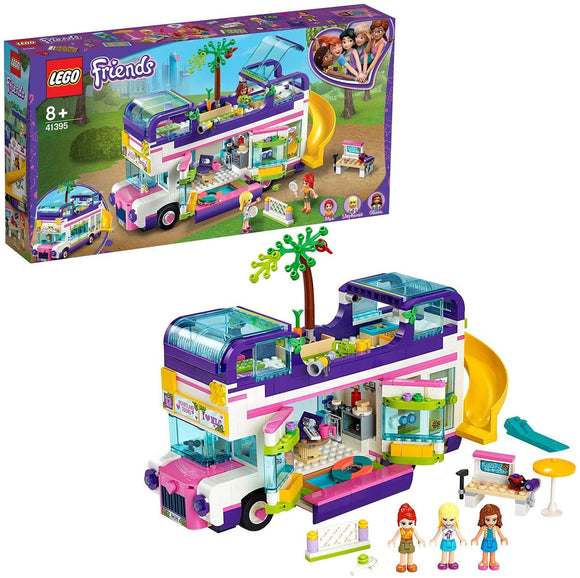 LEGO 41395 FRIENDS FRIENDSHIP BUS WITH SWIMMING POOL