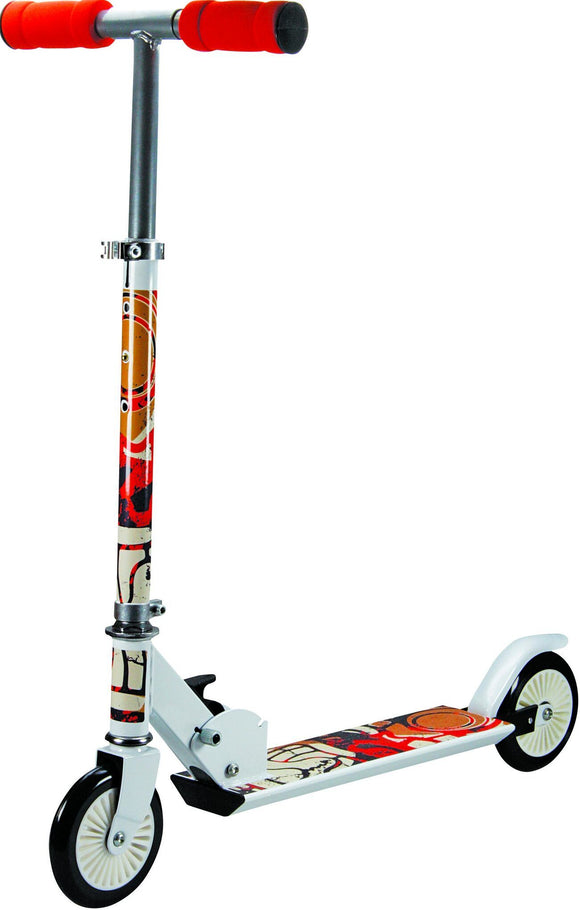 TOYMASTER C1208A TRIBAL WHITE SCOOTER