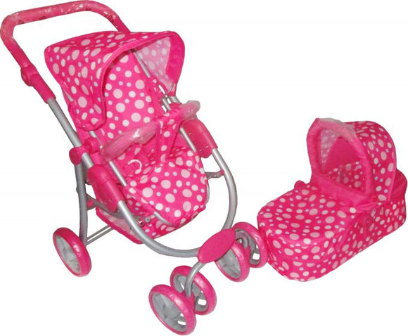 TOYMASTER 9662M 2 IN 1 DOLLS PRAM