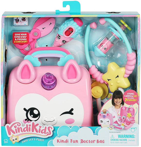 KINDI KIDS 50037 HOSPITAL CORNER UNICORN DOCTORS BAG