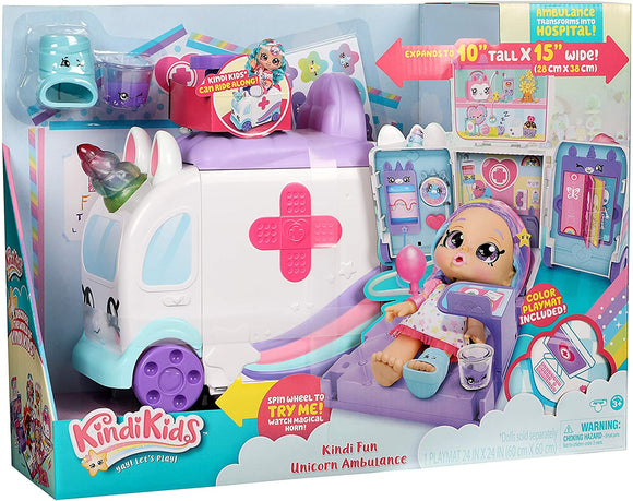 KINDI KIDS 50040 AMBULANCE PLAYSET