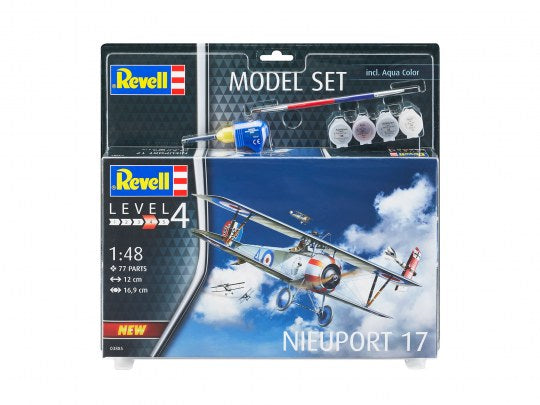 Revell 63885 Model Set - Nieuport 17