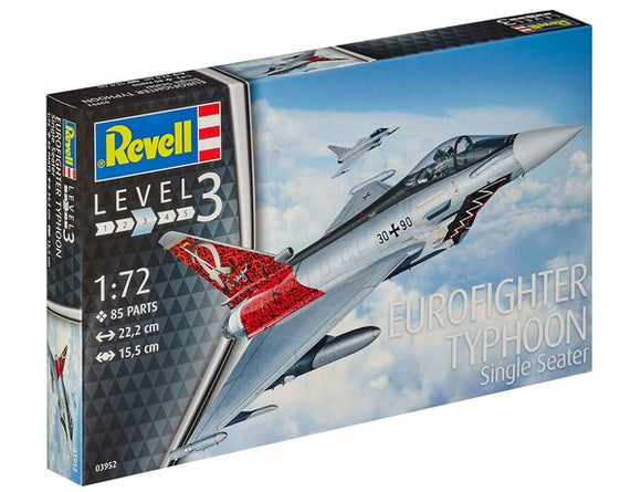 REVELL 03952 1/72 EUROFIGHTER TYPHOON MODEL KIT