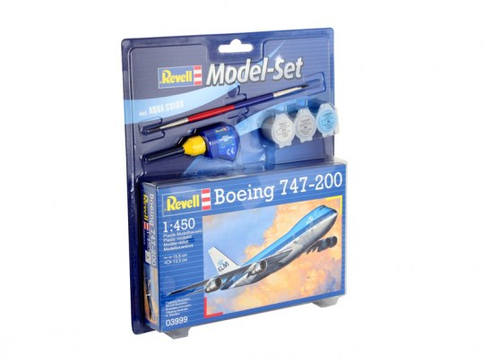 Revell 63999 Model Set - Boeing 747-200
