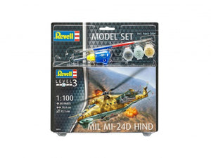Revell 64951 Model Set - Mil Mi-24D Hind