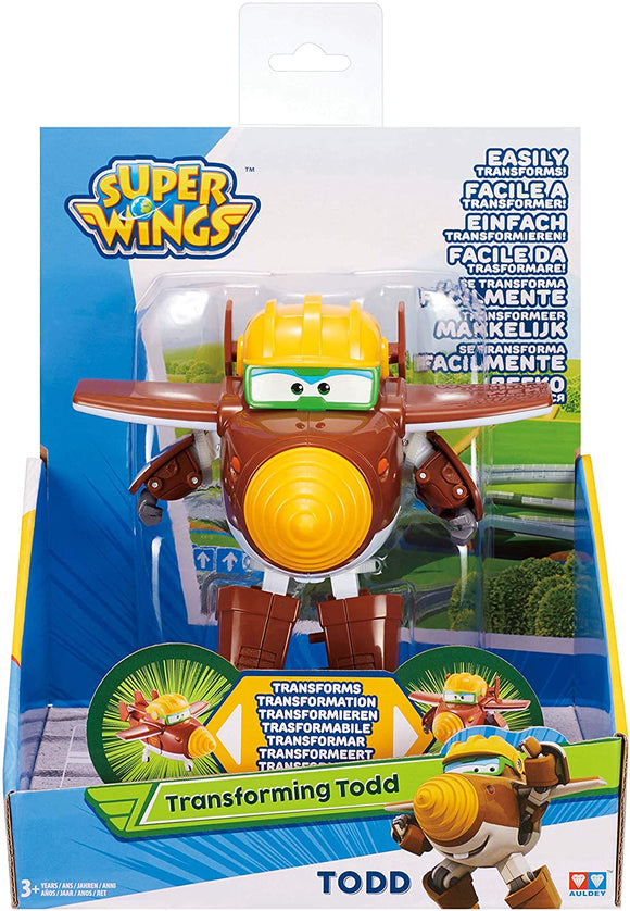 SUPER WINGS 36166 TRANSFORMING TODD