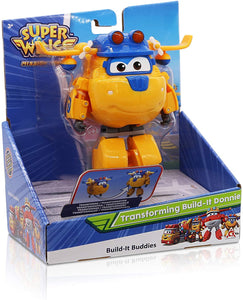 SUPER WINGS 30212 TRANSFORMING BUILD-IT DONNIE