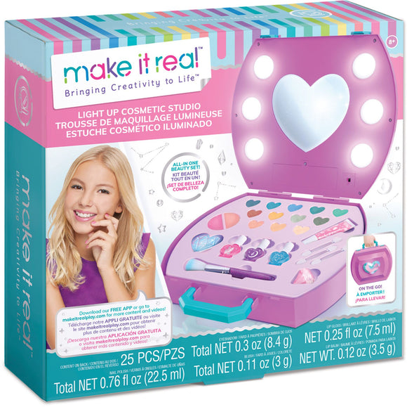 MAKE IT REAL 2508 LIGHT UP COSMETIC STUDIO