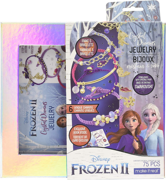 MAKE IT REAL 4380 DISNEY FROZEN CRYSTAL DREAMS JEWELLERY SET