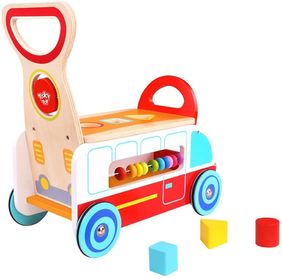 TOYMASTER TKC568 WOODEN MULTI-FUNCTION WALKER