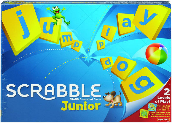 MATTEL GAMES Y9667 JUNIOR SCRABBLE