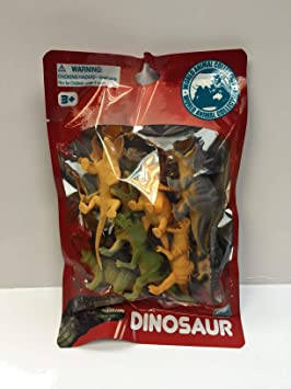 TOYMASTER P111D/8 BAG OF DINOSAURS 8 PIECES