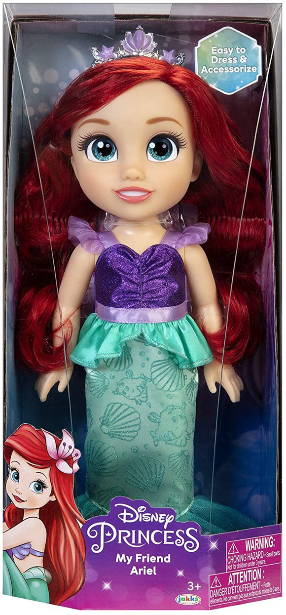 DISNEY 97656 TODDLER DOLL ARIEL MERMAID