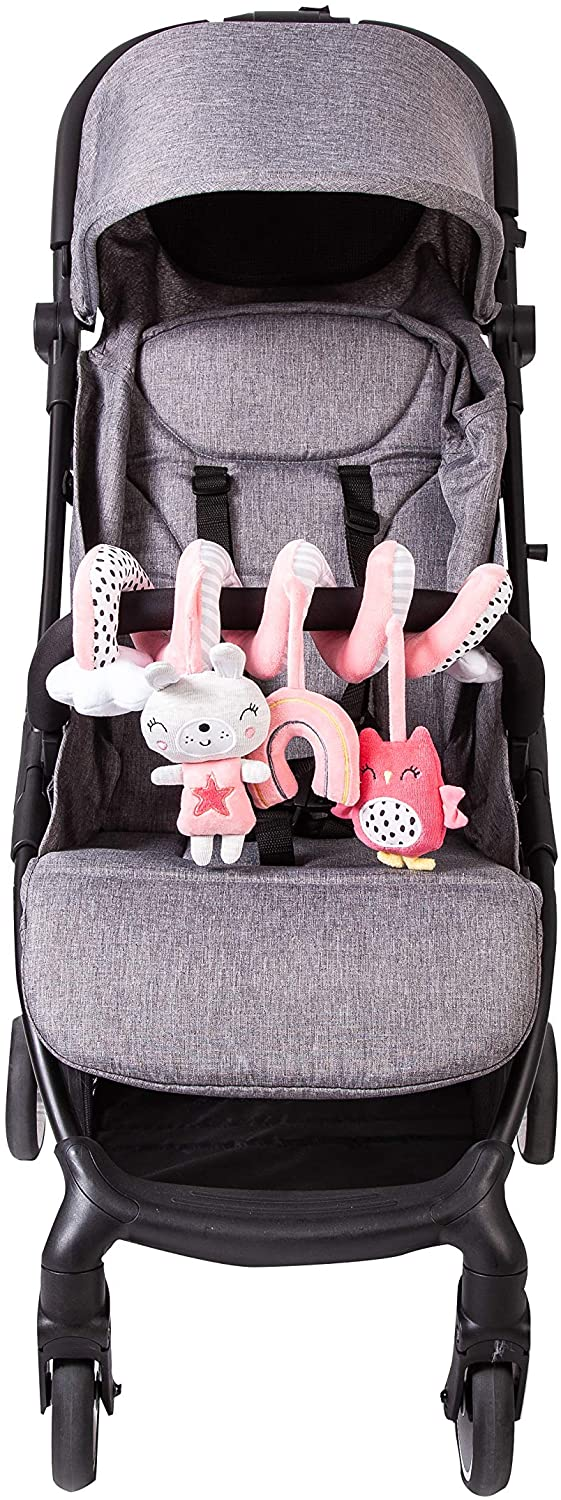 Redkite Spiraloo Pushchair Car Seat Cot Spiral Toy Dreamy Meadow