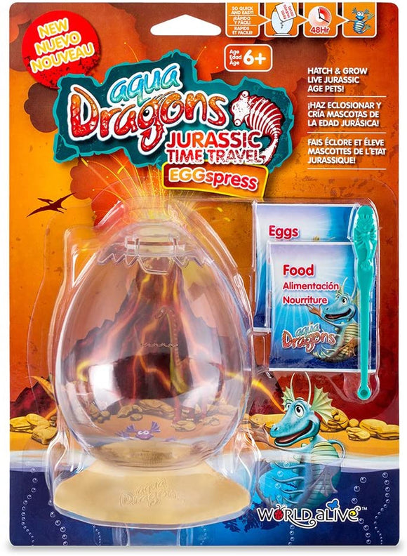 AQUA DRAGONS W4005 JURASSIC TIME TRAVEL EGGSPRESS