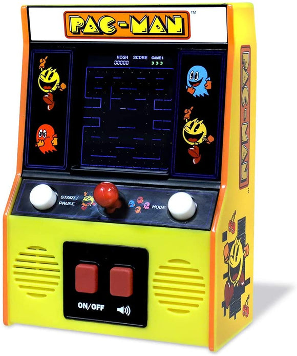 BASIC FUN! 09530 CLASSIC PAC-MAN COLOR LCD RETRO MINI ARCADE GAME