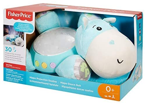 FISHER PRICE CGN86 BLUE HIPPO PROJECTOR NIGHT LIGHT SOOTHER