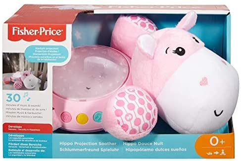 FISHER PRICE FGG89 PINK HIPPO PROJECTION SOOTHER