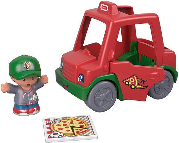 FISHER PRICE GGT38 LITTLE PEOPLE PIZZA DELIVERY MAN AND VAN