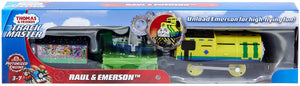 THOMAS TRACKMASTER MOTORIZED ACTION GHK77 RAUL & EMERSON
