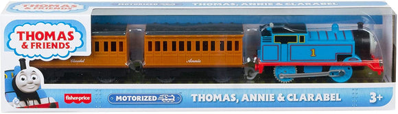 THOMAS & FRIENDS MOTORIZED ACTION GHK82 THOMAS, ANNIE & CLARABEL
