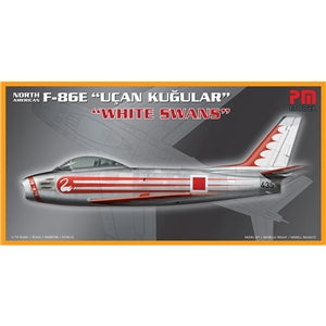 PM MODELS PM-208 F-86E UCAN KUGULAR WHITE SWANS  1/72 SCALE