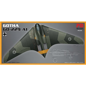 PM MODELS PM-210 GOTHA GO-229 A1 1/72 SCALE