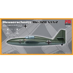 PM MODELS PM-223 MESSERSCHMITT ME-328 V1/V2  1/72 SCALE