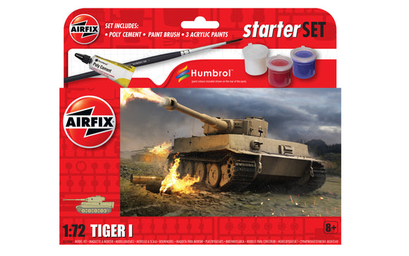 Airfix A55004 TIGER 1 TANK 1/72ND SCALE STARTER KIT