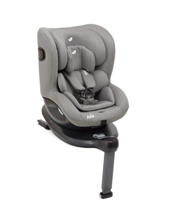 Joie ispin 360 spin car seat in Grey Flannel