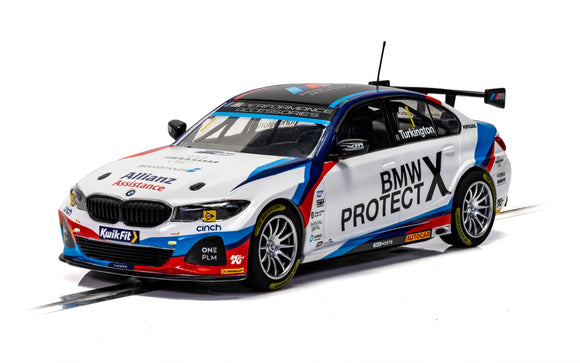 SCALEXTRIC CAR C4188 BMW M-SPORT BTCC 2019 COLIN TURKINGTON