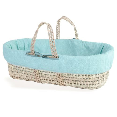 Clair De Lune colour pop moses baskets- ocean