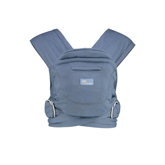 Close Caboo + Cotton Blend Baby Carrier - Stonewash